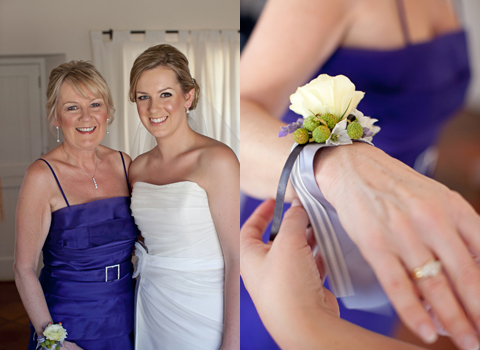 Wedding Corsages Special Flowers For The Mothers